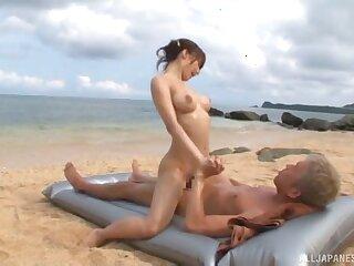 Outdoors fucking on the beach with nice natural tits Ayami Shunka