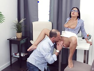 Chanel Lux gives a blowjob involving make him eternal and gets fucked