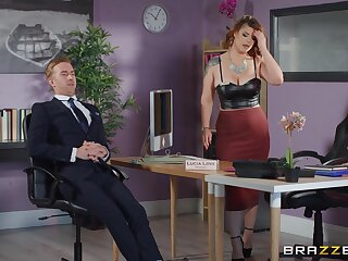Rough sex with the scam arse office MILF during a liaison meeting s