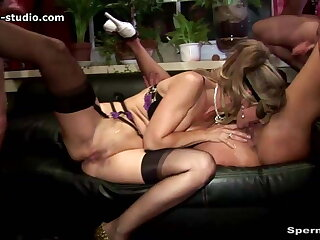 Cum, Cum, Cum Gangbang Orgy - Natascha & Luna - P2 - 10308