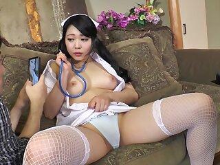 Sexy Asian Newborn In Creampied In Nurse Cosplay