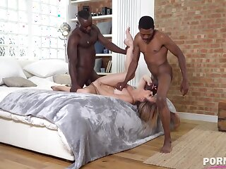 Black Dicks Make Her Cum